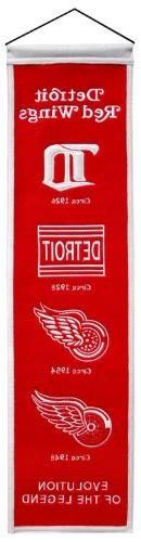 NHL Detroit Red Wings Heritage Banner