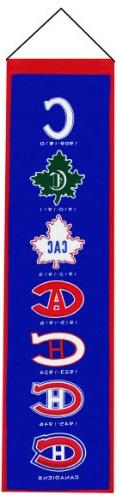 NHL Montreal Canadiens Heritage Banner
