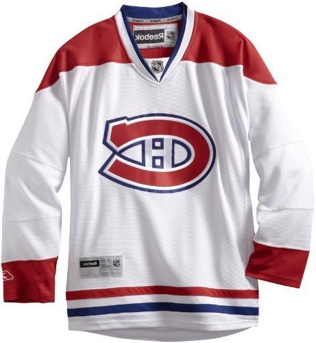 NHL Montreal Canadiens Premier Jersey, Red, Medium