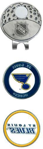 NHL Saint Louis Blues 2 Marker Cap Clip