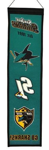 NHL San Jose Sharks Heritage Banner