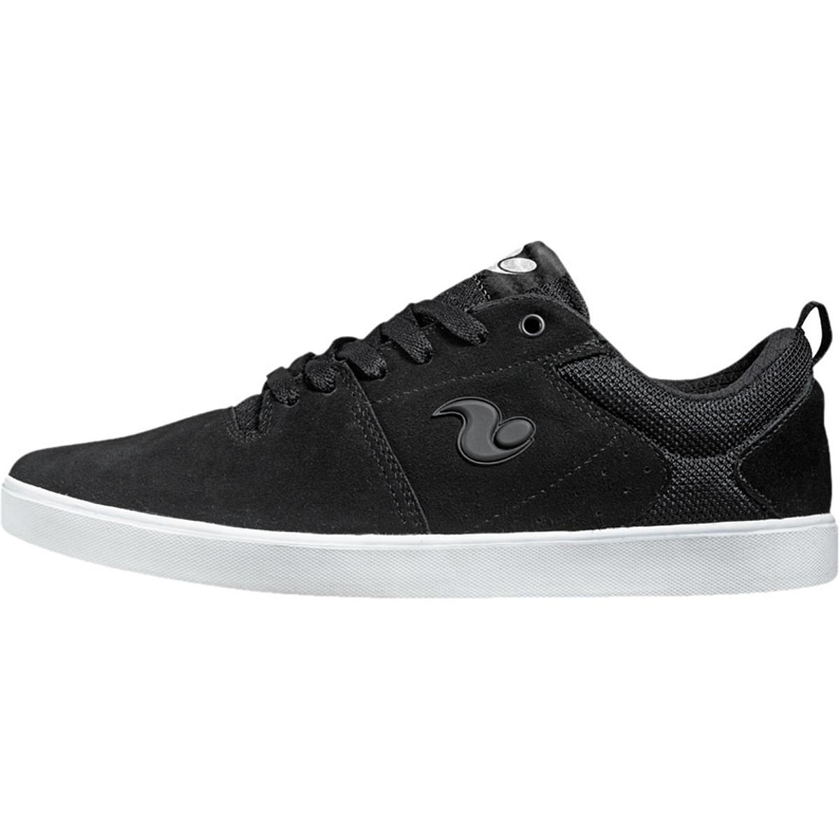 DVS Nica Skate Shoe - Men's Black Suede, 10.5