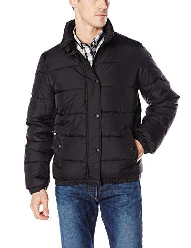 Levi's Men's Classic Puffer Jacket, Charcoal, XX-Large