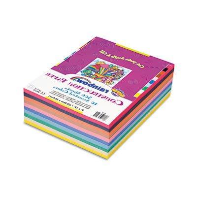 Rainbow Super Value Construction Paper Ream, 45 lb, 9 x 12,