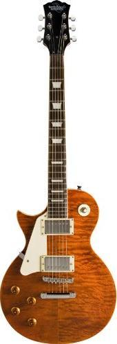 Oscar Schmidt OE20QTE 6-String Solid-Body Electric Guitar,