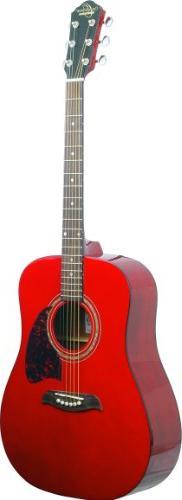Oscar Schmidt OG2 Dreadnought Acoustic Guitar - Transparent