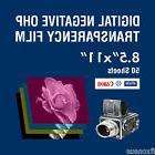 "OHP Digital Negative Transparency Film 8.5"" x 11"" -  50"