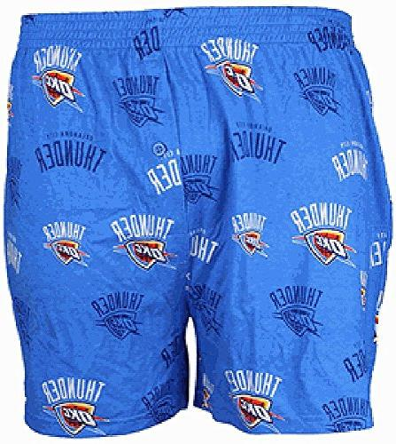 Oklahoma City Thunder Mens Lt. Blue Insider Boxer Shorts by