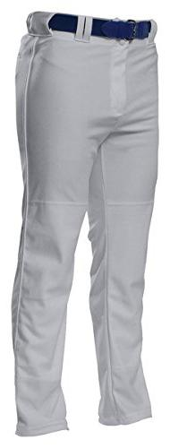A4 Adult Pro Style Open Bottom Baggy Cut Baseball Pant L