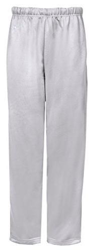 Badger boys Open Bottom Side Pocket Performance Pant-SILVER-
