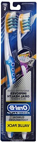 Oral-B Pro-Health Clinical Pro-Flex Soft Toothbrush, Colors