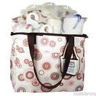 Bumkins Organic Diaper Bag Gift Set - Rose Circles