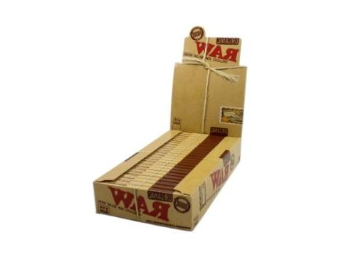 RAW Organic Unbleached 1 1/4 Rolling Papers - Box