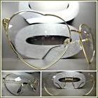 OVERSIZE VINTAGE RETRO Style Clear Lens Sun Glasses Rimless