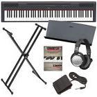 Yamaha P-115 Digital Piano - Black BONUS PAK