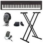 Yamaha P45B Digital Piano with Keyboard Stand Pedal