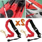2x Paddle Leash Fishing Leash Safety Rod Leash Lanyard For