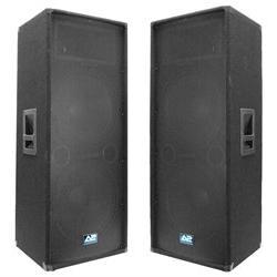 Pair of Premium Dual 15 Pro Audio Speaker Mains - 700 watts