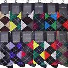 Lot of 12 Pairs 2519CD New Men's Diamond Argyle Dress Socks