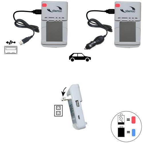Battery Charger Kit Compatible with Canon Powershot S95 –