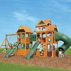 Paramount Cedar Swing Play Set Playground Backyard Kid