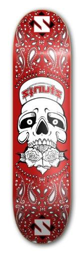 "ZtuntZ Skateboards ""Grateful Skull"" Park Skateboard Deck, 7."