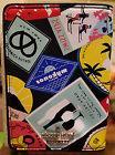 Kate Spade Passport Holder Classic Nylon Travel Stickers NWT