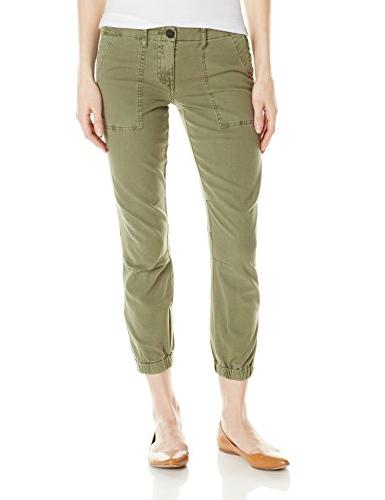 Sanctuary Clothing Women's Peace Trooper French Twill Pant,