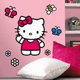 Hello Kitty Peel & Stick Wall Decals