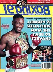 Pernell Whitaker Autographed / Signed Boxing Magazine