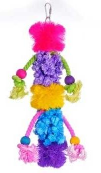 Prevue Pet Products Calypso Creations Wild `N Wooly Toy,