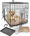 Pet Dog Cat Cage Crate Kennel and Bed Cushion Warm  Soft