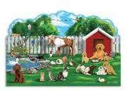 Melissa & Doug Pet Party Shaped Floor Puzzle, 32-Piece