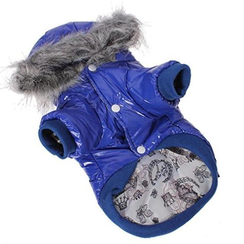 Namsan Pet Puppy Dog Clothes Waterproof and Windproof Hoodie