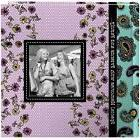 Pioneer Photo Albums 4x6in 2-up 200 Pocket Paisley -