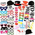 66 PCS Photo Booth Props Wedding Birthday Party Decoration