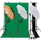 Photo Video Studio Lighting Photography 3 Backdrops Stand