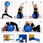 "Physio Balance Yoga Fitness 85cm Gym Exercise 33"" Inflatable"