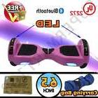 """Pink 6.5"""" Hoverboard Electric Self Balance Board With"""