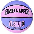Spalding Pink & Purple NBA Street Basketball 28.5 Women Girl