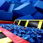"Foam Pits - Pit Foam Cubes/Blocks 1000 pcs 4""x4""x4""  Flame"