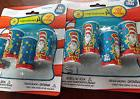 Lot of 2 New Pkgs 8 Dr Seuss Cat In The Hat Kaleidoscopes