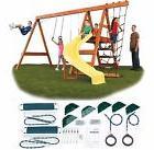 Play Set Kit Swing Slide Swingset Outdoor Backyard