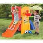 Step2 Play Slide Kids Climber Sports Outdoor Basketball Play