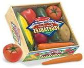 Melissa & Doug Playtime Produce Vegetables -  Wooden Play