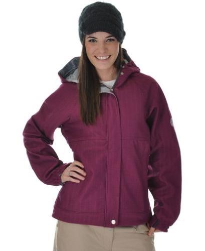 686 Plexus Quest Softshell Ski Snowboard Jacket Orchid
