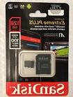 SanDisk 128GB EXTREME PLUS 100 A1 667x w/Adapter Sealed