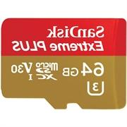 Extreme PLUS 64 GB microSDXC