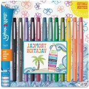 Point Guard Flair Bullet Point Stick Pen, Assorted Colors, .