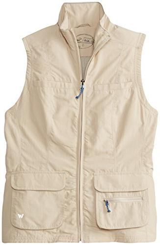 White Sierra Women's Sierra Point Traveller's Vest, Caviar,